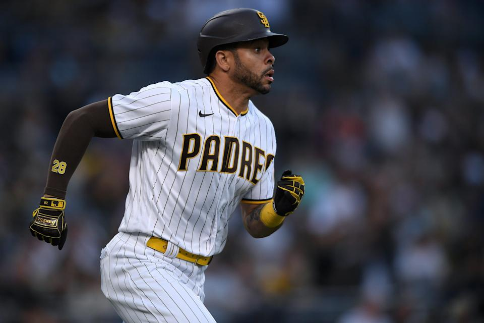 Pham joined the Padres prior to the 2020 season.