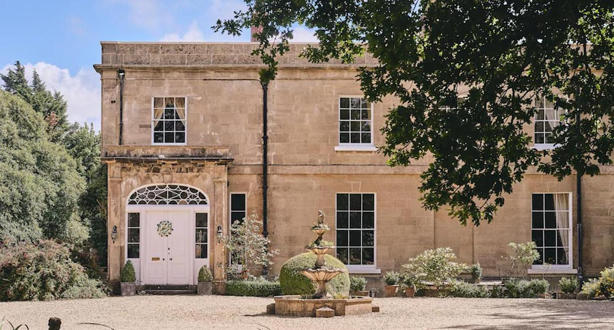 Historical houses you can rent, such as The Manor Luxury Country House in Somerset. (VRBO/The Manor Luxury Country House)