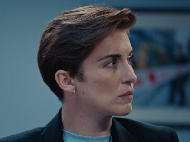 Vicky McClure as DI Kate Fleming in 'Line of Duty'BBC