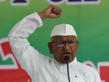 Modi will 'be held responsible' if anything happens to me, says Anna Hazare as his fast continues on 5th day