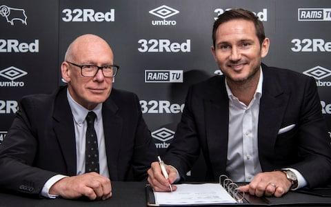 Exclusive: Frank Lampard insists taking over at Derby County 'not a risk'... and he's not thinking about Chelsea job yet