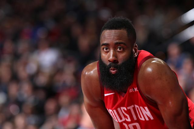 James Harden has carried the Rockets, but is he doing too much? (Getty)