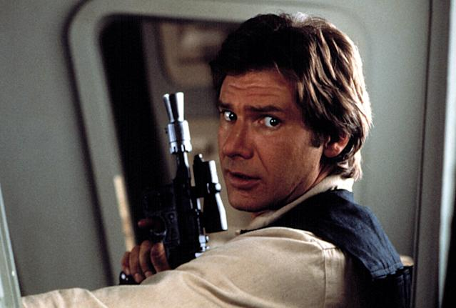 Harrison Ford as Han Solo in <em>Return of the Jedi</em> (Photo: Courtesy of Everett Collection)