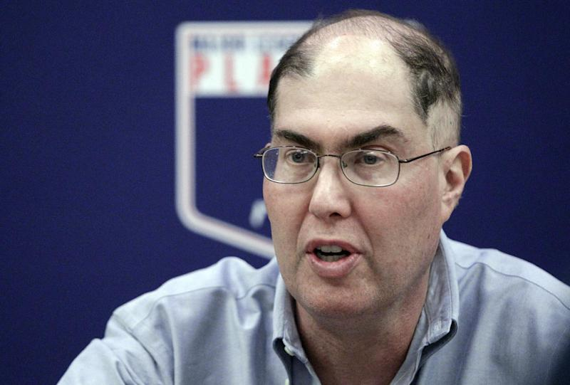 MLBPA Executive Director Michael Weiner speaks during a news conference Wednesday, Nov. 28, 2012, in New York. (AP Photo/Frank Franklin II)Michael Weiner, executive director of the Major League Baseball Players' Association speaks during a news conference, Wednesday, Nov. 28, 2012, in New York. (AP Photo/Frank Franklin II)