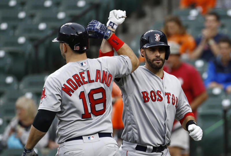 The Red Sox remain No. 1 on our MLB Power Rankings and their latest move will make them better. (AP)