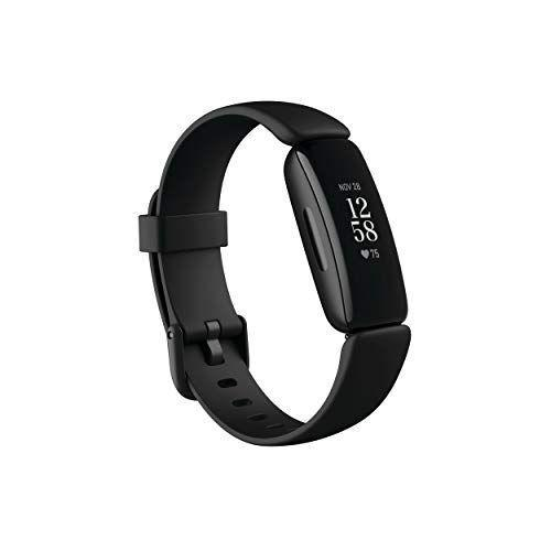 """<p><strong>Fitbit</strong></p><p>amazon.com</p><p><strong>$78.95</strong></p><p><a href=""""https://www.amazon.com/dp/B08DFGPTSK?tag=syn-yahoo-20&ascsubtag=%5Bartid%7C10049.g.35154852%5Bsrc%7Cyahoo-us"""" rel=""""nofollow noopener"""" target=""""_blank"""" data-ylk=""""slk:BUY IT HERE"""" class=""""link rapid-noclick-resp"""">BUY IT HERE</a></p><p>Fitbit is the gold standard of fitness trackers—and its Inspire 2 model is no exception. Decked out with a slim design, this gadget can successfully track your steps, calories burned, and heart rate without weighing you down mid-workout. </p>"""