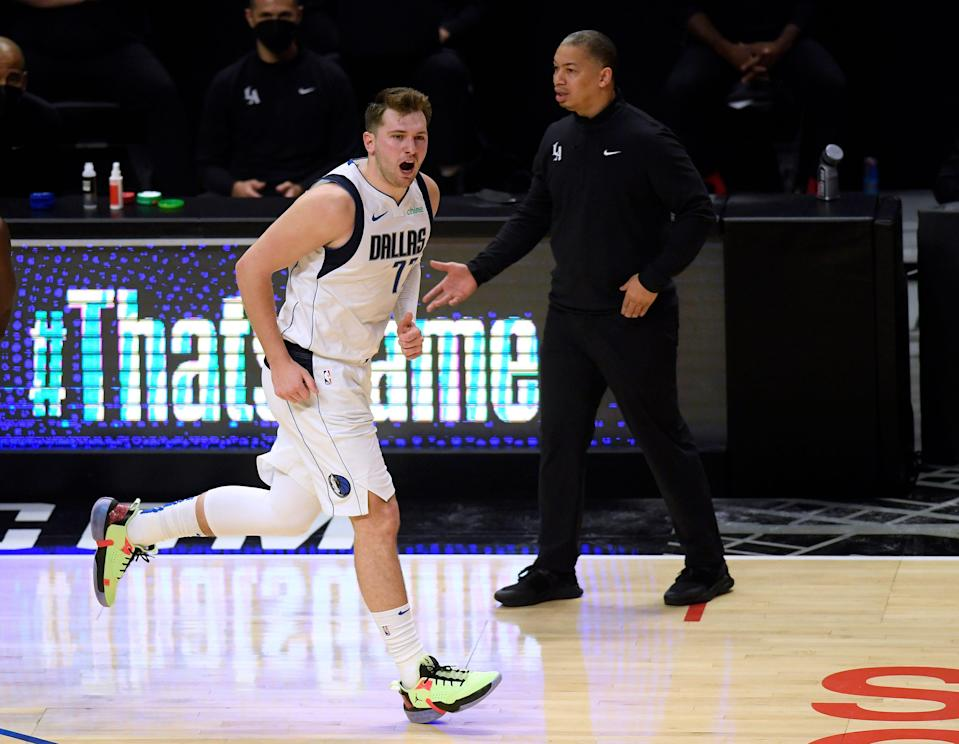 Ty Lue and the Clippers had no answers for Luka Doncic.