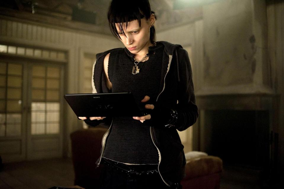 Rooney Mara as Lisbeth Salander in <em>The Girl With the Dragon Tattoo.</em> (Photo: Everett Collection)