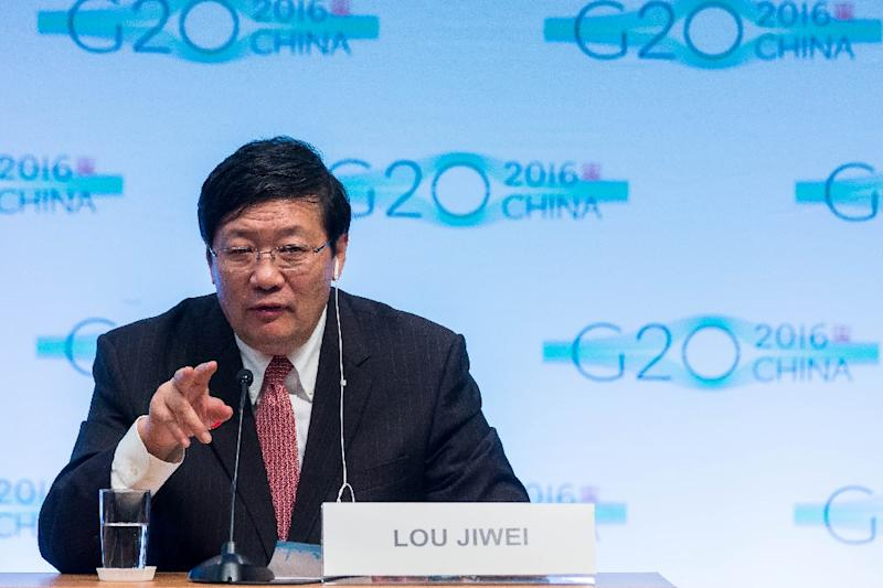 Lou Jiwei, 65, China's finance minister since March 2013, presided over a stock market boom encouraged by authorities, followed by a rout in the middle of 2015