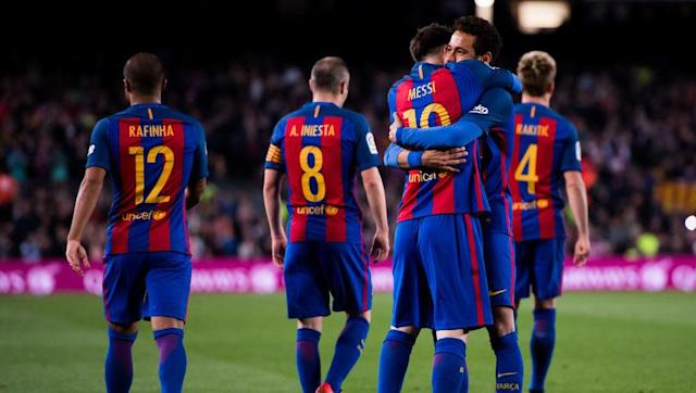 <p>The attacking trio of Lionel Messi, Luis Suarez and Neymar has set La Liga and Europe on fire over the last 2-3 years. However, when either one of them are injured or missing the Catalan giants tend to struggle to replace them adequately. </p> <br><p>Barcelona signing Mahrez would add significant strength to their attacking depth and would enhance more rotation keeping all their attacking players fresh. </p> <br><p>However, with Neymar recently admitting he'd love to play in the Premier League one day, Mahrez could find himself cementing a starting position alongside Suarez and Messi. </p>