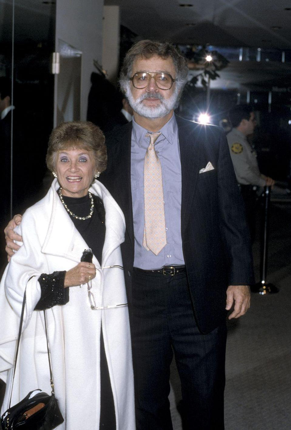<p>Out of Sophia garb, she's got style and isn't telling stories about Italy. Here she is at an AIDS Fashion Show with actor Brian Maggart. Fun fact: Maggart is Fiona Apple's father. </p>