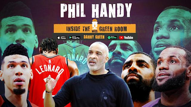 Raptors coach Phil Handy has worked with some of the best players in the game.