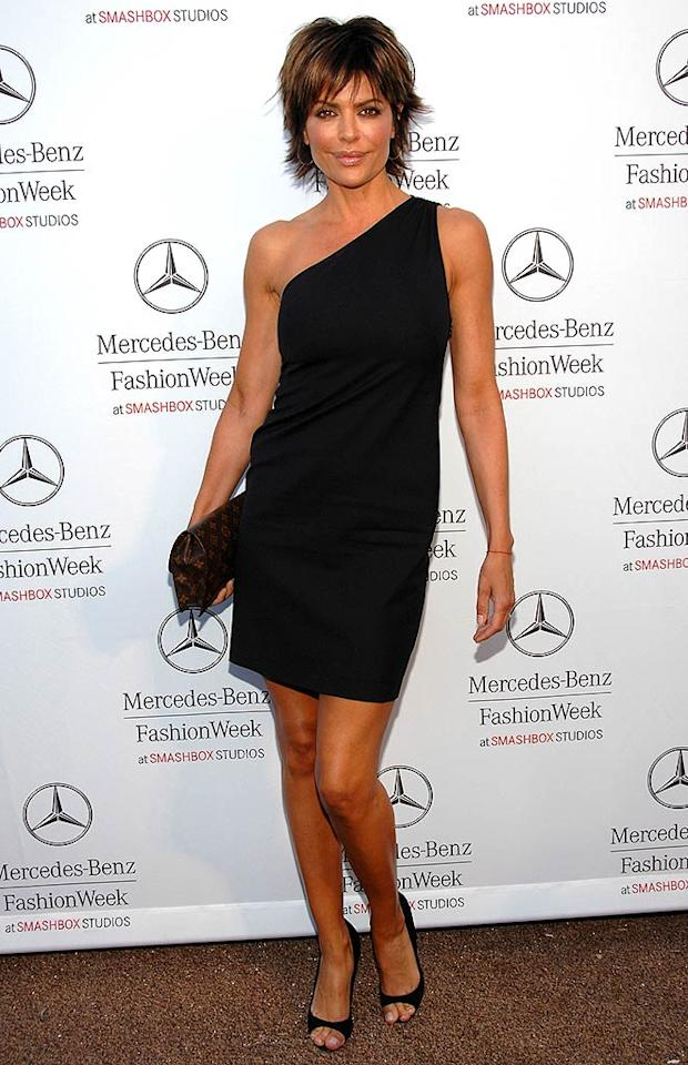 "Actress/TV host Lisa Rinna was sleek and sexy in her LBD. Jean-Paul Aussenard/<a href=""http://www.wireimage.com"" target=""new"">WireImage.com</a> - March 11, 2008"
