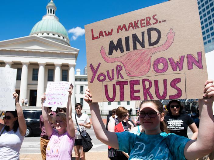 <p>Women online have expressed their outrage at proposed new law in Texas that would limit abortion in the state. </p> (AP)