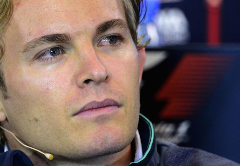 Formula One - Rosberg pips Hamilton in Spa opening practice