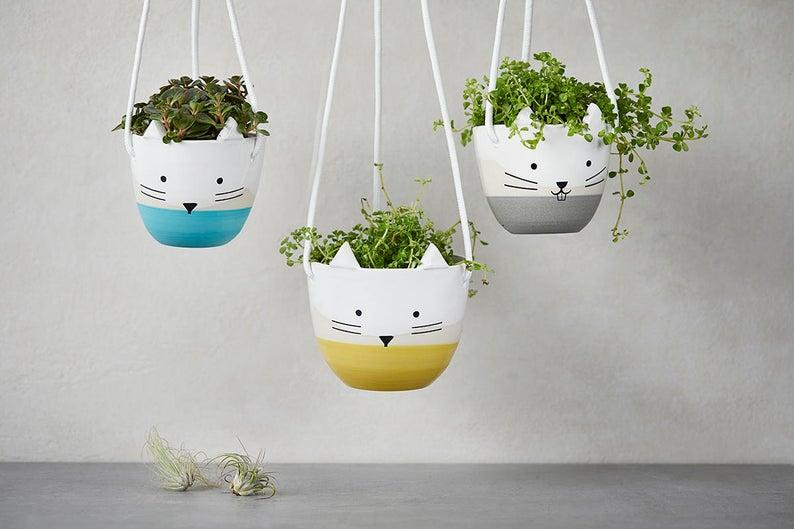 Hanging Planter. Image via Etsy.