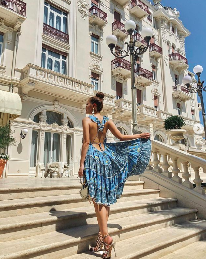 <p>During her recent summer break, Elly has been travelling around Europe in her private jet stopping in Ibiza, London and Rimini in Italy. Source: Instagram/elly </p>