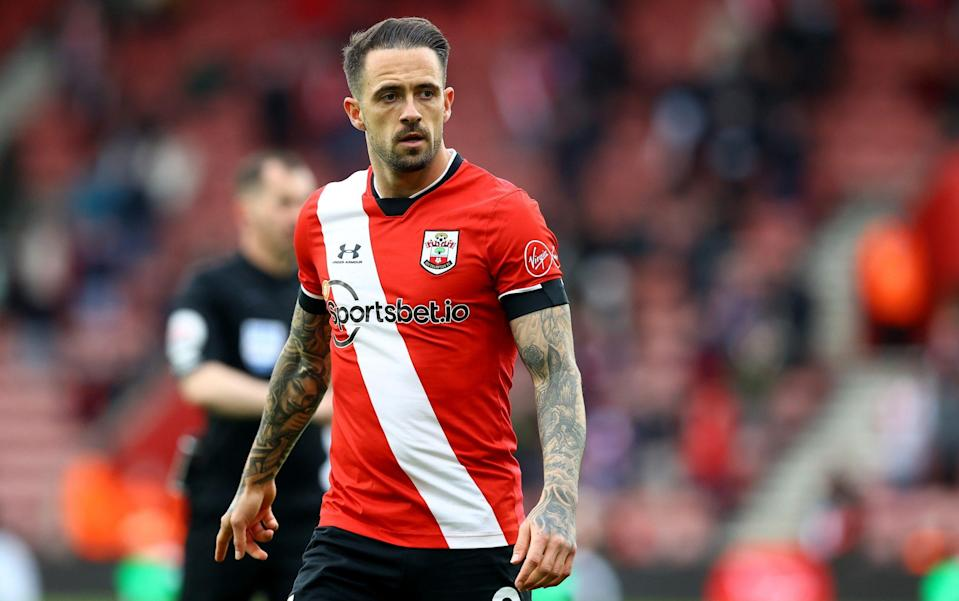 Danny Ings of Southampton looks on during the Premier League match between Southampton and Leeds United at St Mary's Stadium on May 18, 2021 in Southampton, England. - GETTY IMAGES
