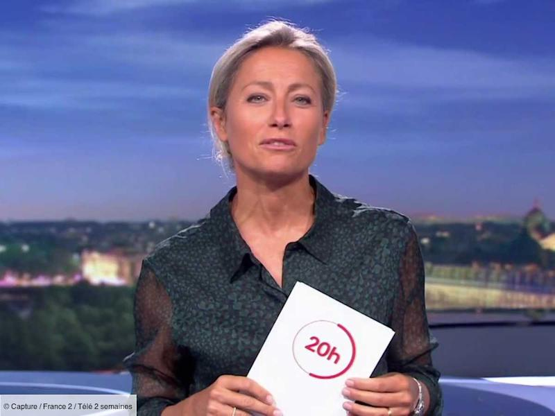 Anne Sophie Lapix Interpelle Avec Humour Thomas Sotto En Plein Direct Sur France 2 Video