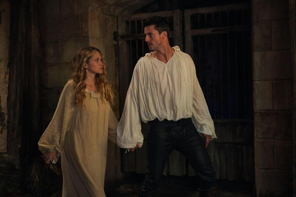 "<p>In this British fantasy series, Teresa Palmer portrays Diana Bishop, a historian who reluctantly returns to witchcraft after discovering a book about magical creatures. Although witches and vampires have never gotten along, Diana forms an alliance with the enigmatic vampire Matthew Clairmont, who's played by <strong>Leap Year</strong>'s Matthew Goode.</p> <p><a href=""http://www.sundancenow.com/series/watch/a-discovery-of-witches/208f53ee8a1f2b68?season=1"" class=""link rapid-noclick-resp"" rel=""nofollow noopener"" target=""_blank"" data-ylk=""slk:Watch A Discovery of Witches on Sundance Now."">Watch<strong> A Discovery of Witches</strong> on Sundance Now.</a></p>"