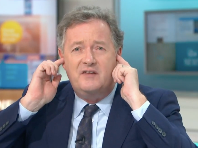 Piers Morgan refuses to listen on 'Good Morning Britain': ITV