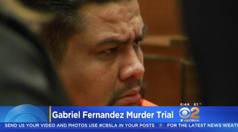 Isauro Aguirre in court on Monday. (CBS LA)