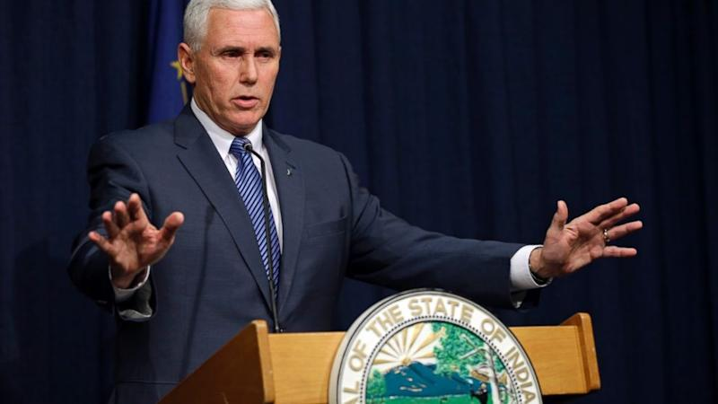 Indiana Governor Mike Pence Signs 'Religious Freedom' Clarification Act into Law (ABC News)