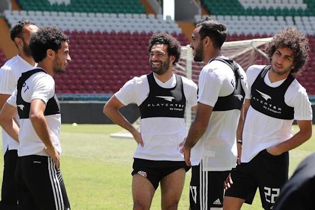 Mohamed Salah fit for Egypt World Cup 2018 opener: Liverpool star set to take part in Uruguay clash