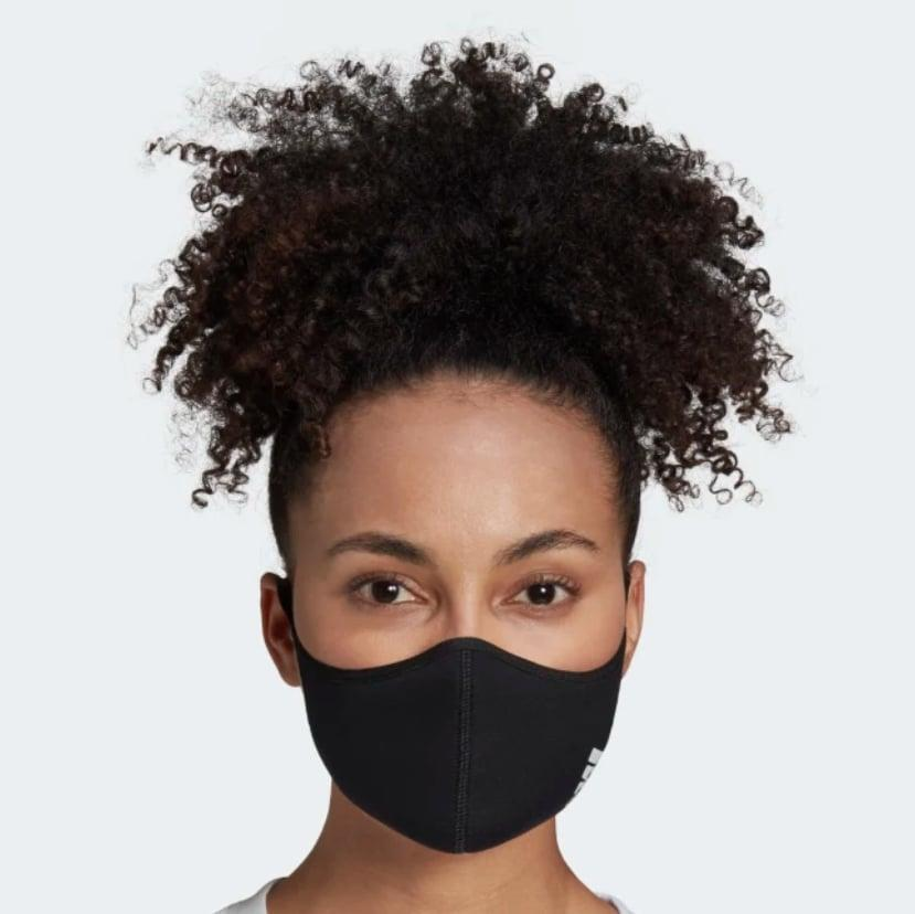 <p>These <span>Adidas Face Covers</span> ($20 for a three-pack) are made with soft, breathable fabric that isn't flimsy. They're breathable and machine washable; just wash with hot water and tumble dry low.</p>