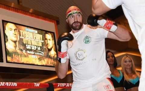 <span>There are concerns that Fury is now zealously over-training</span> <span>Credit: Getty Images </span>