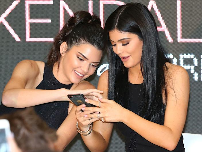 "Kendall and Kylie Jenner both spent their teenage years on ""KUWTK."""