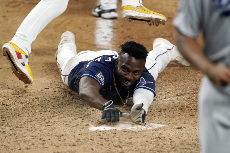 How did World Series Game 4 reach the mind-bending conclusion that saw the Tampa Bay Rays tie up the series? It started with these key plays.(Photo by Cooper Neill/MLB Photos via Getty Images)