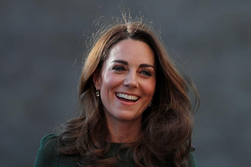 The Duchess of Cambridge at Family Action's South London base on Tuesday [Photo: Getty]