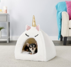 """<p><a class=""""link rapid-noclick-resp"""" href=""""https://go.redirectingat.com?id=74968X1596630&url=https%3A%2F%2Fwww.chewy.com%2Ffrisco-novelty-unicorn-covered-cat%2Fdp%2F192043%3Fgclid%3DCjwKCAjwsan5BRAOEiwALzomXz_gyIt5bmPMUL2oh6DZuOcHbRxoCqm5BHMgbPEWubPVJIAKF_jZ5hoCAhsQAvD_BwE&sref=https%3A%2F%2Fwww.womansday.com%2Flife%2Fpet-care%2Fg33523229%2Fbest-pet-beds%2F"""" rel=""""nofollow noopener"""" target=""""_blank"""" data-ylk=""""slk:Shop now"""">Shop now</a></p><p>If your dog loves a little bit of whimsy, this silly unicorn bed will make them feel cozy and fantastical all at the same time.<br><br><br><br><br><br>Want more Woman's Day?<a href=""""https://subscribe.hearstmags.com/subscribe/womansday/253396?source=wdy_edit_article"""" rel=""""nofollow noopener"""" target=""""_blank"""" data-ylk=""""slk:Subscribe to Woman's Day"""" class=""""link rapid-noclick-resp"""">Subscribe to Woman's Day</a> today and get <strong>73% off your first 12 issues</strong>. And while you're at it, <a href=""""https://link.womansday.com/join/3o9/wdy-newsletter"""" rel=""""nofollow noopener"""" target=""""_blank"""" data-ylk=""""slk:sign up for our FREE newsletter"""" class=""""link rapid-noclick-resp"""">sign up for our FREE newsletter</a> for even more of the Woman's Day content you want.<br><br><br></p>"""