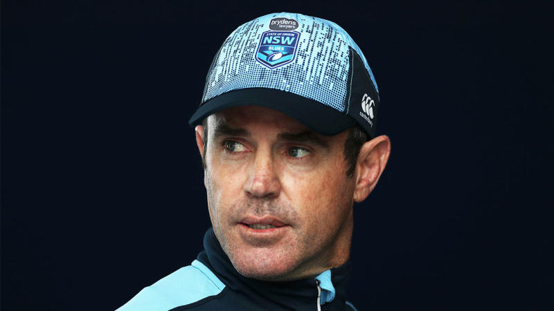 Brad Fittler has named a huge 64 person squad for the Blues camp. (Getty Images)