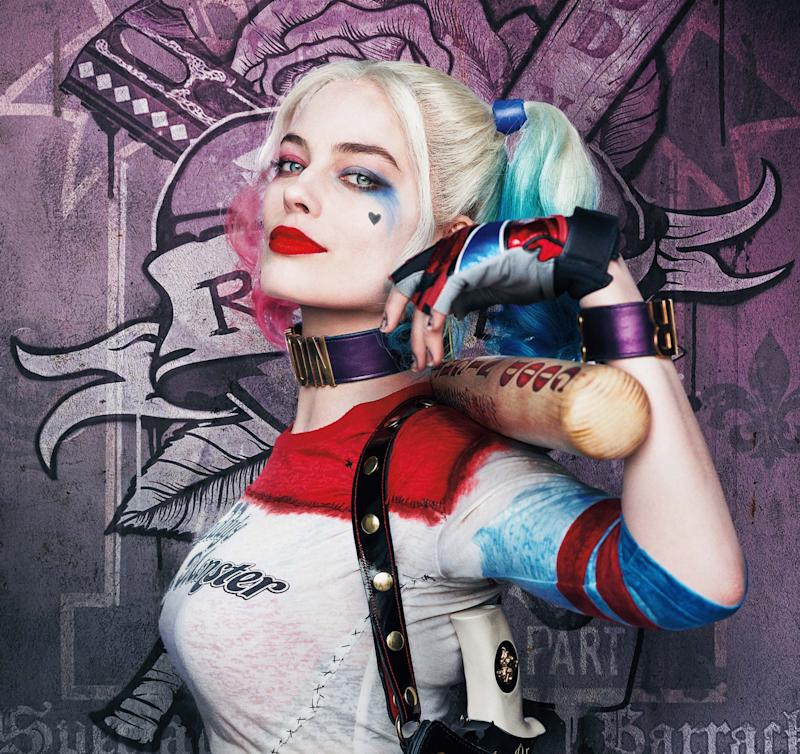 SUICIDE SQUAD, US character poster, Margot Robbie as Harley Quinn, 2016. © Warner Bros. / courtesy Everett Collection