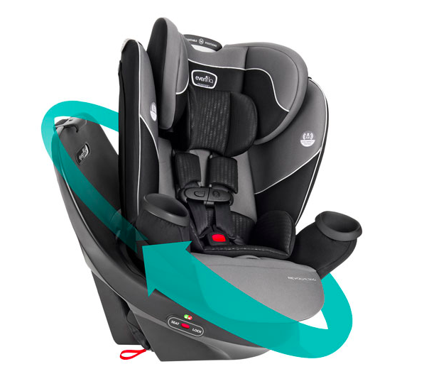 Evenflo Revolve360 All-in-One Car Seat (Photo via Best Buy Canada)