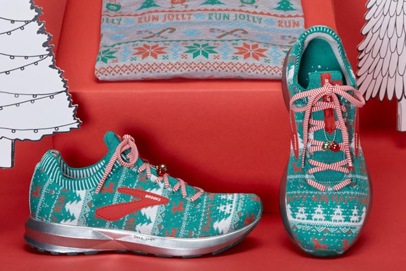 b20235b4f7f Brooks Gets in the Holiday Spirit With  Ugly Sweater  Sneakers