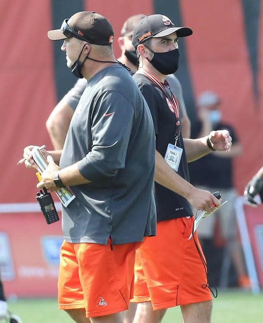 Starter Wilson's knee injury a blow to Browns linebackers