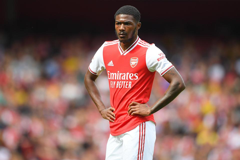 Arsenal player Ainsley Maitland-Niles (Getty Images)