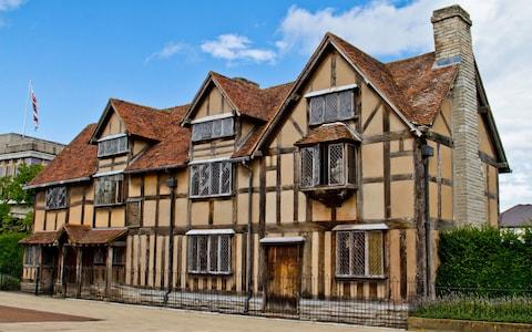 Shakespeare's brithplace - Credit: Getty