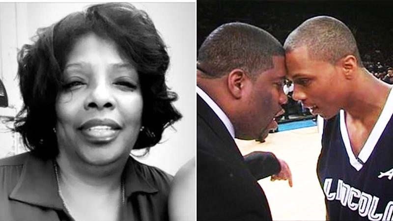 Seen here, Sebastian Telfair's mother and brother, who both died after contracting COVID-19.