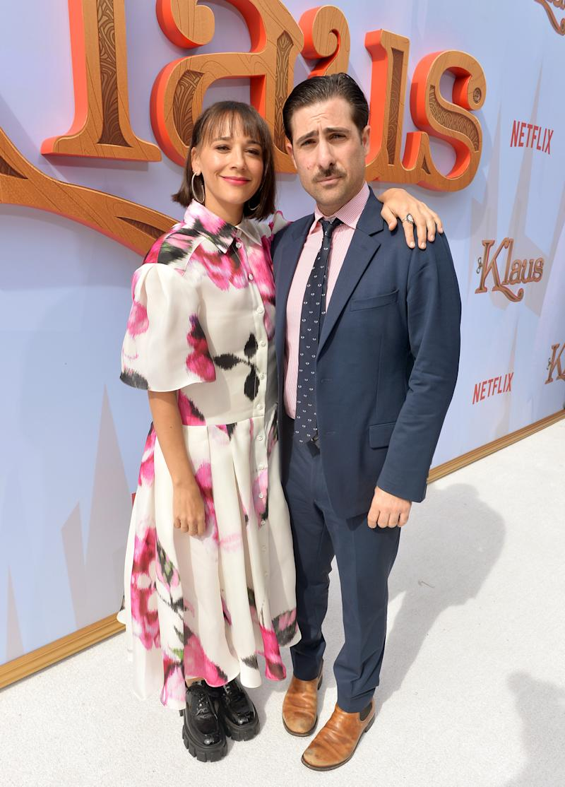 Rashida Jones y Jason Schwartzman. Foto: Jerod Harris/Getty Images