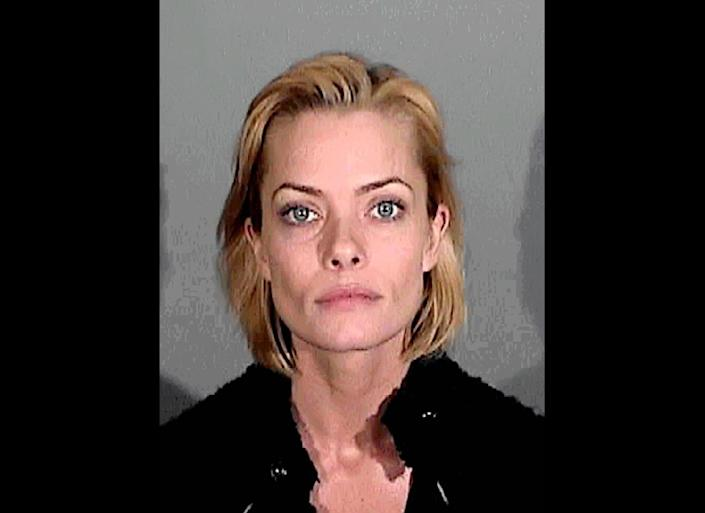 """The actress was arrested on January 5, 2011, where she registered a 0.22 blood alcohol level, which is <a href=""""http://www.huffingtonpost.com/2011/01/10/jaime-pressly-dui-three-times-legal-blood-alcohol-limit-when-arrested_n_807193.html"""" target=""""_hplink"""">almost three times the legal limit.</a>"""