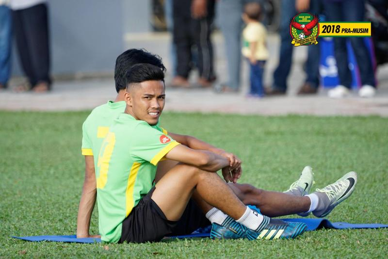 Kedah's Farhan out for rest of season on ACL injury