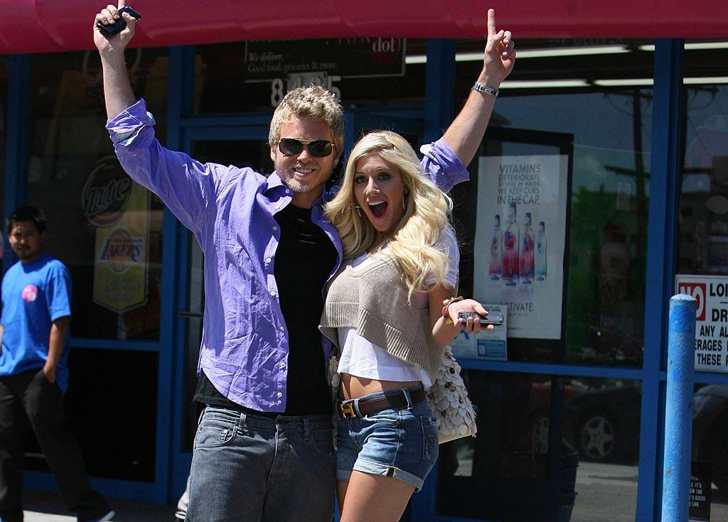 "Will Spencer Pratt and Heidi Montag finally make their symbolic marriage legal? The ""Hills"" couple will reportedly wed ""for real"" in the next few weeks. Of course, cameras will be around. <a href=""http://www.infdaily.com"" target=""new"">INFDaily.com</a> - April 8, 2009"