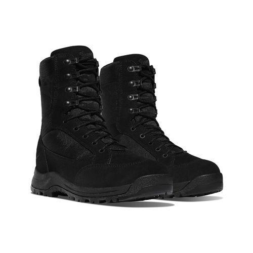 """<p><a class=""""link rapid-noclick-resp"""" href=""""https://global.danner.com/007-tanicus.html"""" rel=""""nofollow noopener"""" target=""""_blank"""" data-ylk=""""slk:SHOP"""">SHOP</a></p><p>As one of the most reliable names in outdoor equipment, it's no surprise the movie's costume department turned to Danner when Bond needed the perfect pair of combat boots. Tough, durable and incredibly sleek, they give bond all the performance (and style) he could ever want. </p><p><a href=""""https://global.danner.com/007-tanicus.html"""" rel=""""nofollow noopener"""" target=""""_blank"""" data-ylk=""""slk:danner.com"""" class=""""link rapid-noclick-resp"""">danner.com</a>, $185</p>"""