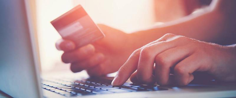 paying online using a credit card