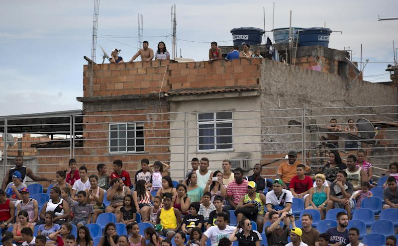 IOC: Rio's Olympic preparations boosted by WCup