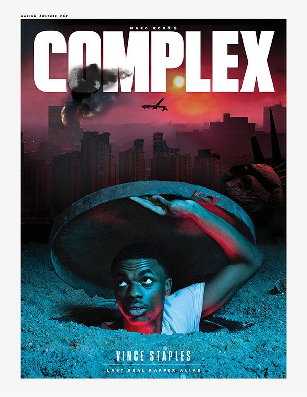 Vince Staples Complex Cover